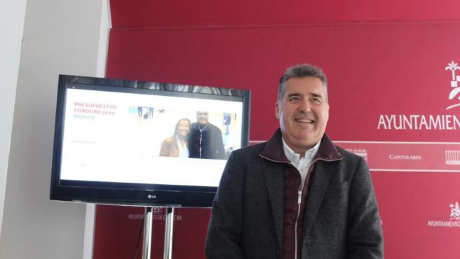 Delegado de Educación del Ayuntamiento de Córdoba, Manuel Torrejimeno, en una imagen de archivo