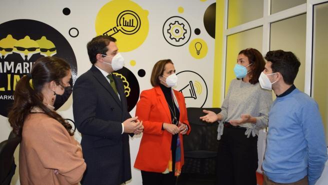 El alcalde y la presidenta del instituto municipal visitan la red de viveros del Imdeec.