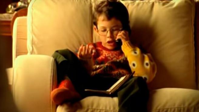 """El niño del comercial navideño de Airtel, """"Hola, soy Edu. ¡Feliz navidad!"""""""