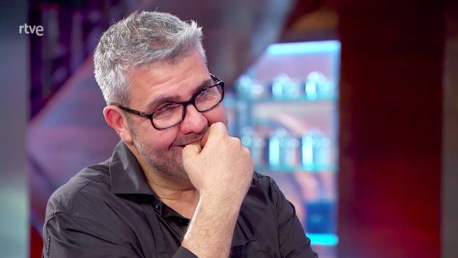 Florentino Fernández se emociona en 'MasterChef Celebrity'.