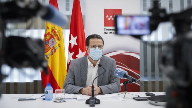 Foto recurso del consejero de Hacienda, Javier Fernández-Lasquetty.