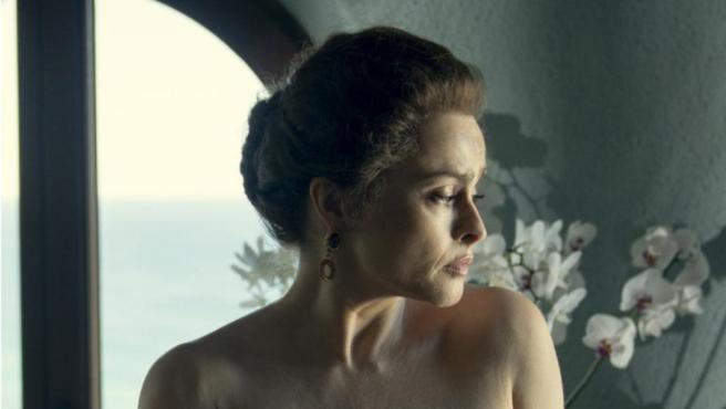Helena Bonham Carter en la cuarta temporada de 'The Crown'.