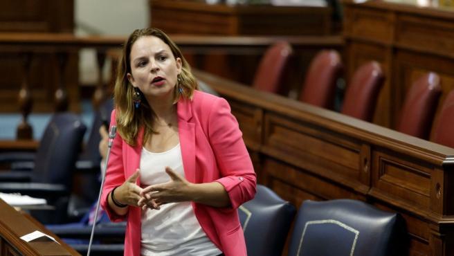La consejera de Derechos Sociales del Gobierno de Canarias, Noemí Santana