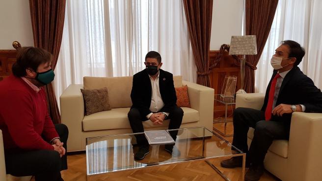 Reunión de Francisco Reyes con responsables de la CEJ