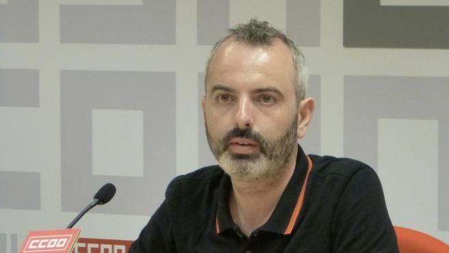 Secretario de CCOO Toledo, José Luis Arroyo,