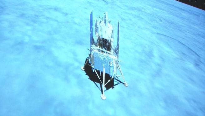 La sonda china Chang'e 5 alunizó con éxito, en una misión de recogida de muestras lunares que está prevista dure dos días, antes de emprender su regreso a la Tierra.