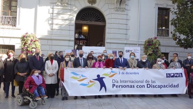Acto por el Día Internacional y Europeo de las Personas con Discapacidad