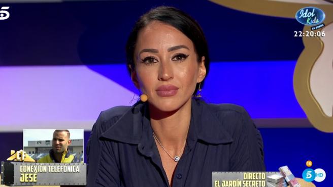 Aurah habla con Jesé en 'La cas fuerte'.