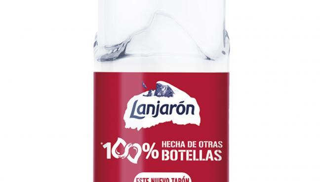 Botella de Lanjarón