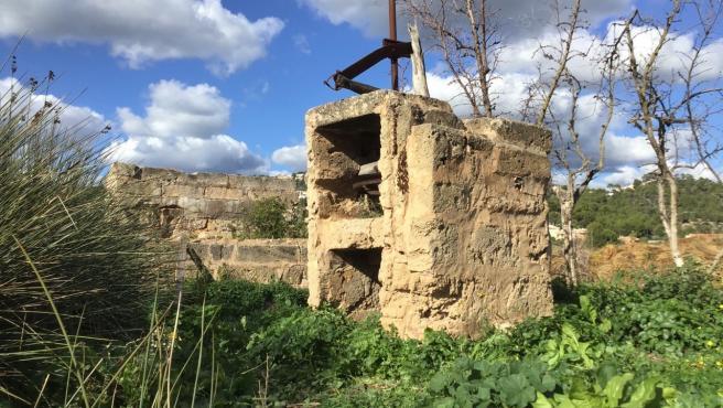 El Consell de Mallorca y el Ayuntamiento de Andratx restaurarán la noria de Can Fasser