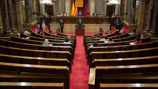 El Parlament se compromete a reducir el sueldo de los diputados tras aprobarse por unanimidad