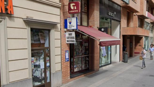 Despacho receptor de Loterías de Huesca.