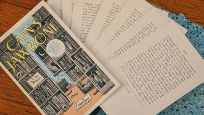 Algunas de las cartas que componen el acertijo 'Cain's Jawbone'.