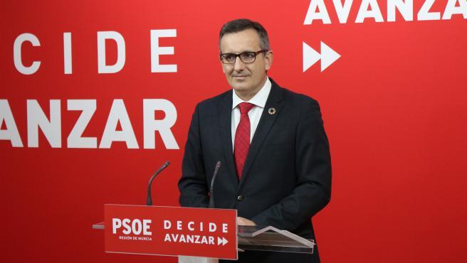 """Conesa (PSRM) renuncia a su aforamiento para declarar de """"forma voluntaria"""" como investigado por supuesta prevaricación"""