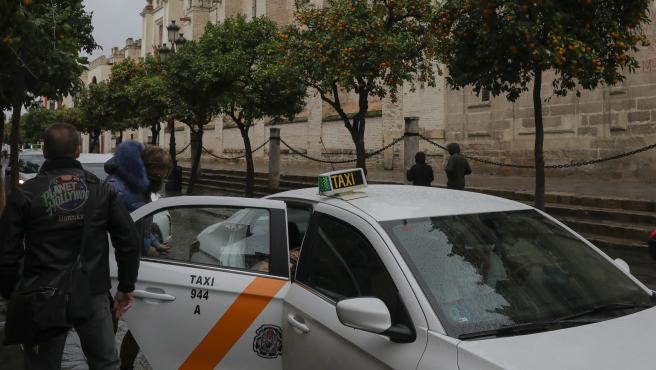 La movilización del taxi convocada por Élite consiste en un paro protesta de tres horas