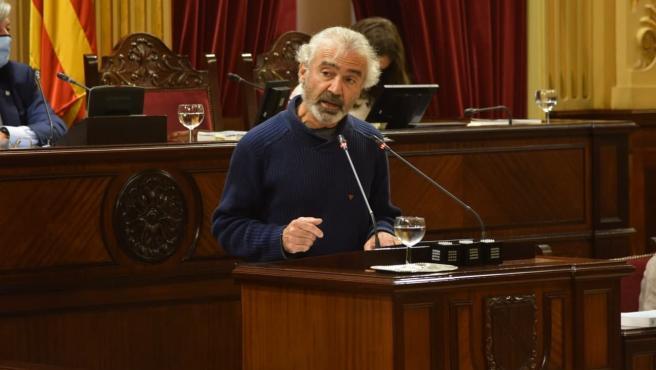 El diputado de Unidas Podemos e impulsor de la iniciativa, Pablo Jiménez.
