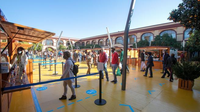 Feria 'Sabores de la Provincia' que organiza la Diputación en su sede