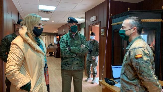 Militares de la Brigada Extremadura XI han realizado hasta la fecha el rastreo de 14.176 extremeños