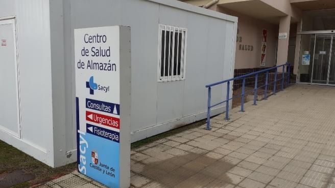Módulo climatizado en el Centro de Salud de Almazán (Soria).