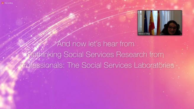 Mónica Oltra interviene en los premios del European Social Network