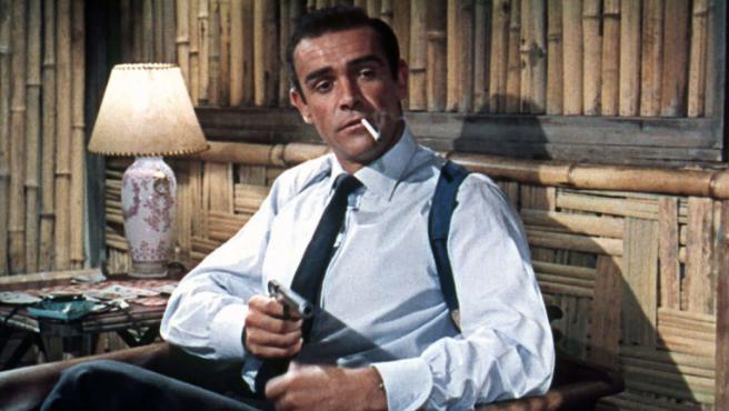 Sean Connery en 'Agente 007 contra el Dr. No'