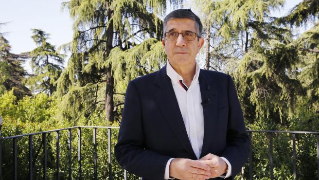 El presidente de la Comisión Constitucional del Congreso, miembro de la Comisión Ejecutiva Federal del PSOE y exlehendakari, Patxi López, habla sobre la Constitución.