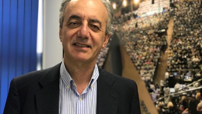 Francisco Millán Mon, candidato del PP a las elecciones europeas y eurodiputado desde 2004, en una entrevista con Europa Press