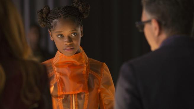 Letitia Wright en 'Vengadores: Infinity War'