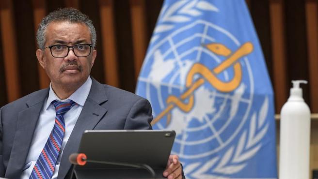El director de la OMS, Tedros Adhanom Ghebreyesus, en una imagen de archivo.