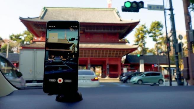 Aportaciones desde el móvil para Street View