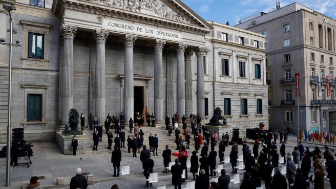 Celebración del Día de la Constitución en el Congreso.