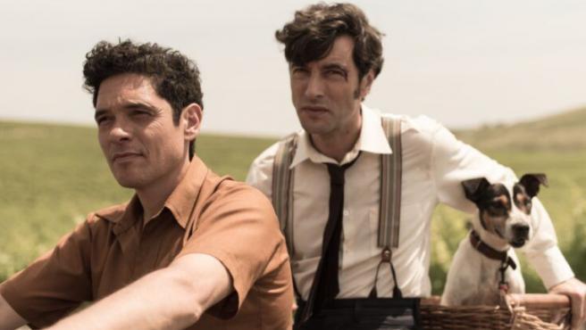 Pablo Molinero y Javier Rey en 'El verano que vivimos'
