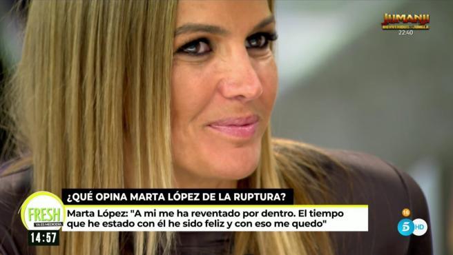 Marta López, colaboradora de 'Ya es mediodía'.