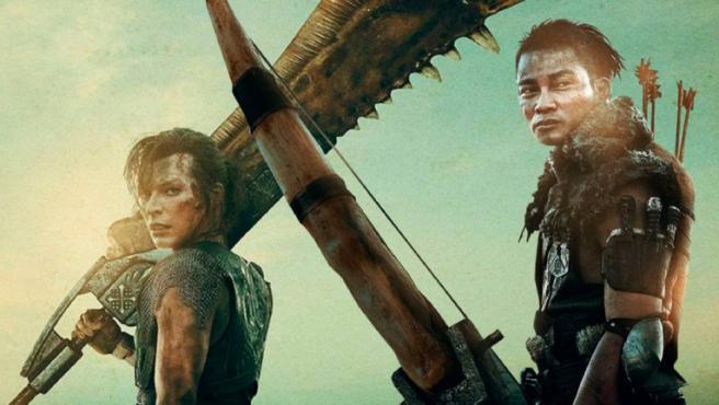 Milla Jovovich y Tony Jaa en 'Monster Hunter'