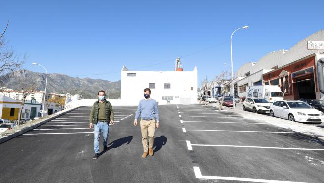 El Ayuntamiento de Marbella habilita más de 40 nuevos aparcamientos en el polígono La Ermita