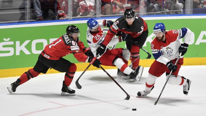 Partido entre Canadá y la República Checa de hockey sobre hielo
