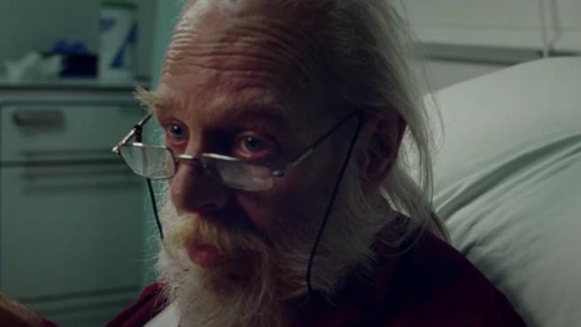 Papá Noel en un anuncio del Servicio Nacional de Salud británico.