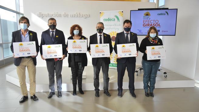 Presentación de la campaña 'Únete al Efecto Girasol' de Cudeca