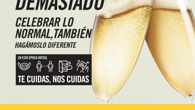 Cartel de la campaña de prevención del ISPLN sobre el consumo de alcohol