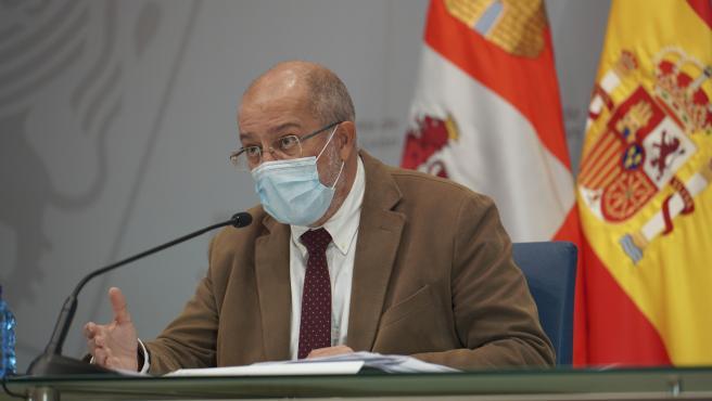 El vicepresidente de la Junta, Franciso Igea. Archivo