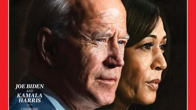 La revista Time ha elegido a Joe Biden y Kamala Harris Persona del Año.