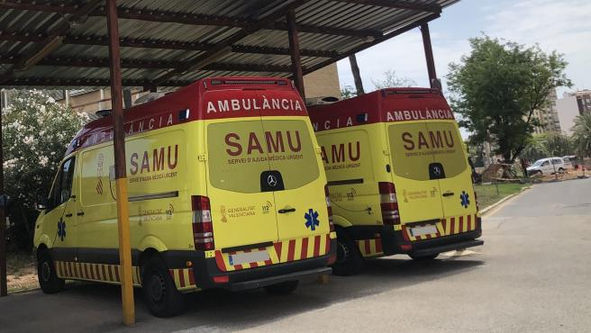 Sucesos.- Fallece un motorista tras chocar contra un coche en la N-330 en Requena