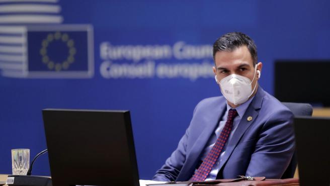 El presidente del Gobierno, en el Consejo Europeo que ha terminado este viernes.