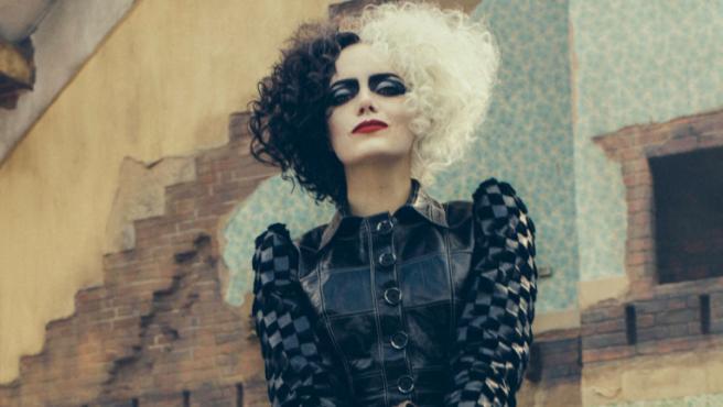 Emma Stone como 'Cruella'