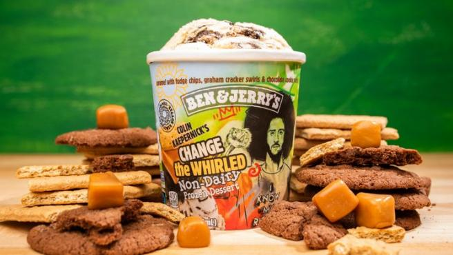 Nuevo helado de Ben & Jerry's en honor a Colin Kaepernick