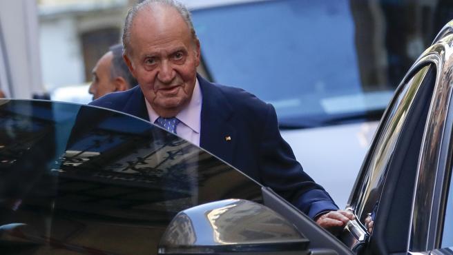 Imagen del rey Juan Carlos I, tomada en octubre de 2019.