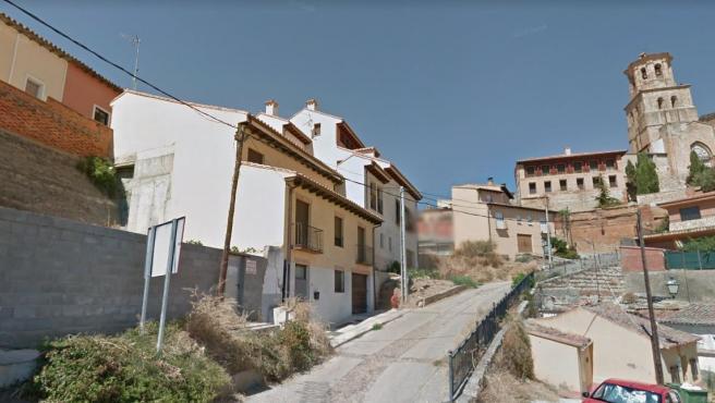 Una calle de la localidad zamorana de Toro.