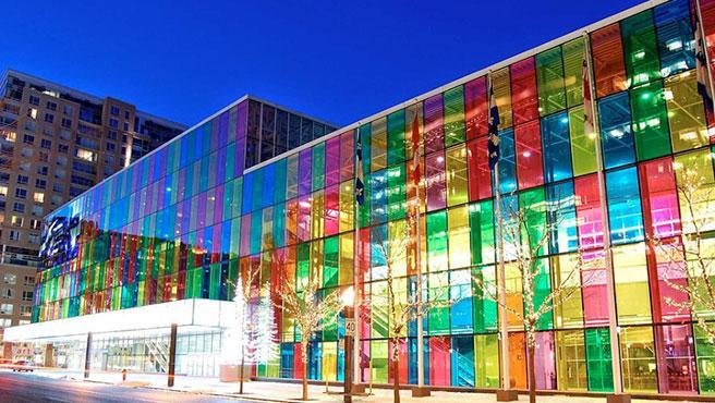 Los edificios que se recubran con AuREUS serán gigantescos paneles solares verticales.