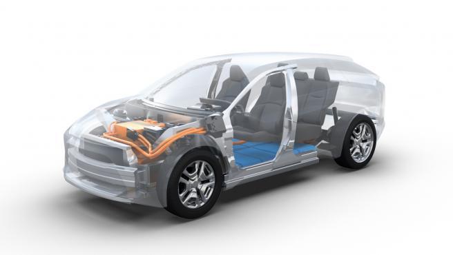 Plataforma BEV Subaru y Toyota.