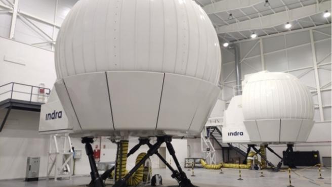 Centro de simulación del helicóptero NH90.